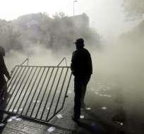 Miles de trabajadores chilenos participaron en marchas, el martes 1 de mayo. Foto: Referencial AFP