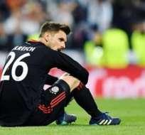 Sven Ulreich, portero de Bayern de Múnich, lamentó en su cuenta de instagram, el error cometido en el partido contra R. Madrid.