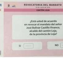 Se instalarán 399 Juntas Receptoras del Voto en el proceso de Revocatoria del Mandato del Alcalde de Loja. Foto: Twitter