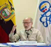 """Según presidente Moreno, intento de limitarlo sería """"sospechoso de complicidad"""". Foto: Archivo API"""