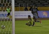 Daniel Angulo hizo el gol del triunfo para los 'puros criollos'. Foto: API