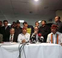 Julio César Trujillo, anunció que quien se resista a la evaluación será cesado. Foto: API