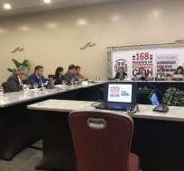 La Comisión Interamericana de Derechos Humanos no era reconocida por anterior Gobierno. Foto: Twitter @ramirogarciaf