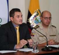 Carlos Vallejo, Director General del IESS. - Foto: vía Twitter @ieesec