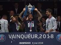 El equipo parisino consiguió el 'triplete' local esta temporada. Foto: FRANCK FIFE / AFP