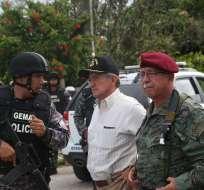 Roque Moreira asume comandancia tras decreto de presidente Lenín Moreno. Foto: Flickr Ministerio de Defensa