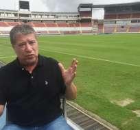 El 'bolillo' Gómez, de 62 años, dirigió a la selección ecuatoriana desde 1999 hasta el 2004. Foto: AFP