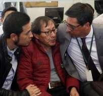 QUITO, Ecuador.- Familiares de periodistas asesinados en cautiverio acudieron a comisión legislativa para exigir respuestas. API