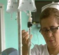 Enfermeras que se convierten en madres en los hospitales.