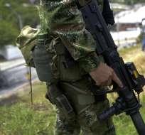 COLOMBIA.- El detenido, Alias 'Mordisco', es acusado del asesinato de tres policías en 2017. Foto referencial de AFP