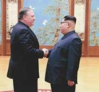 Pompeo señaló disposición a contribuir con la modernización económica de Corea del Norte. Foto: Archivo AFP