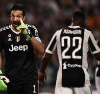 Esto se da por la expulsión y declaraciones del italiano en el Real Madrid-Juventus. Foto: MARCO BERTORELLO / AFP