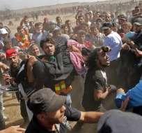 Ecuador, EE.UU., Israel, ONU y 128 países más se posicionaron ante lo ocurrido. - Foto: AFP