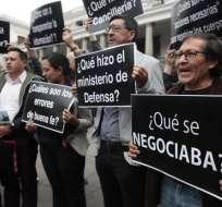 Familiares pidieron la presencia de la Cancillería en reunión con Moreno. Foto: Archivo API