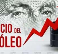 """INTERNACIONAL.-En Nueva York, el barril de """"light sweet crude"""" (WTI) para junio subió a 70,96 dólares. Foto: Ecuavisa"""