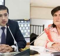 Martínez reemplaza a Ma. Elsa Viteri, quien estuvo a cargo del Plan Económico de Gobierno. Fotos: Andes.