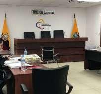 La Fiscalía presentó siete pruebas testimoniales en contra del perito. Foto: Fiscalía