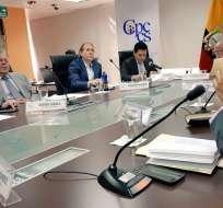 Consejo de Participación durante sesión, el martes 15 de mayo de 2018. Foto: @CPCCS