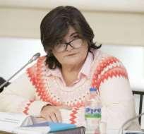 ¿Por qué cesaron a María Elsa Viteri como ministra de Finanzas?. Foto: Finanzas Ecuador