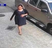 Mujer embarazada desaparece en el sector de Sauces 8, Guayaquil. Foto: captura de video