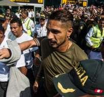 El atacante peruano aseguró que no tienen argumentos para sancionarlo. Foto: Ernesto BENAVIDES / AFP