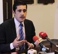 Martínez tiene por delante la presentación del nuevo Proyecto de Ley Económico. Foto: API