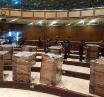El jueves 24 de mayo el presidente Moreno dará su discurso tras primer año de mandato. Foto: Asamblea Nacional