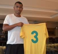 El defensa ecuatoriano reforzará al club de la serie B2 del campeonato carioca. Foto: Tomada de globoesporte.com