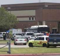 Autor de tiroteo en Texas usó armas del padre y colocó explosivos. Foto: AFP