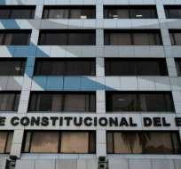 La Corte es una de las entidades evaluadas por el Consejo de Participación transitorio. Foto: Archivo