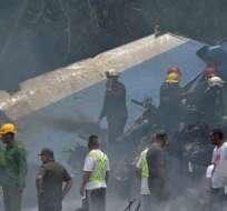 Una delegación mexicana de expertos arribó a Cuba para colaborar con las investigaciones. Foto: AFP