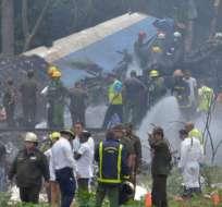 Una de las sobrevivientes que encontraron no resistió y también falleció.  -  Foto: CNN