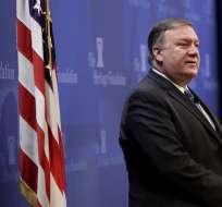 Mike Pompeo. Foto: AFP