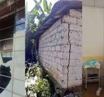 Según Marisol Peña, gobernadora de Imbabura no existe registro de heridos en hospitales. Foto: Twitter