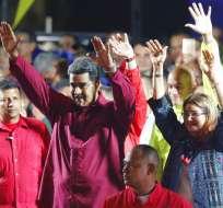 Maduro recibió las credenciales que lo designan mandatario hasta 2025. Foto: AP
