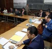 Tribunal notificará a las partes procesales la fecha de reinstalación, informó Fiscalía. Foto: Twitter Fiscalía