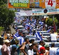 Las protestas antigubernamentales dejaron 76 muertos en Nicaragua. Foto: AP