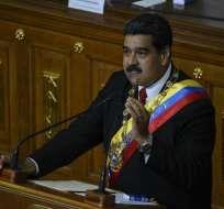 Maduro ha sido fuertemente criticado por las irregularidades del proceso electoral. Foto: AFP