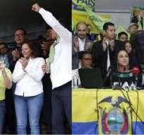 De disputas verbales a desafiliaciones de AP, así ha sido el clima dentro del oficialismo. Foto: Collage Ecuavisa