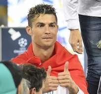 KIEV, Ucrania.- CR7 ha causado revuelo por sus declaraciones sobre su futuro en Real Madrid. Foto: AFP