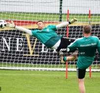 Neuer se encuentra entrenando junto a la selección alemana en Italia. Foto: AFP