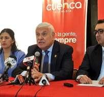 Marcelo Cabrera argumenta que la actividad podría afectar a la ciudad azuaya. Foto: Twitter Municipio de Cuenca.