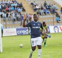 El delantero ecuatoriano es el actual goleador del torneo con 15 tantos. Foto: API