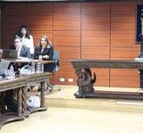 QUITO, Ecuador.- Durante audiencia, el fiscal calificó el secuestro a Fernando Balda como crimen de Estado. Foto: Fiscalía