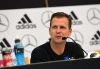 El mánager de la selección, Oliver Bierhoff, hizo pública su queja. Foto: MIGUEL MEDINA / AFP