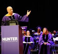 """""""Cuando empecé en Hollywood, siempre exhibí con orgullo mi condición de alumno Hunter"""", comenta Diesel. - Foto: Hunter"""