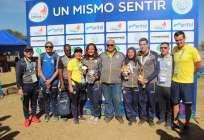 Los nadadores ganaron la prueba de los 10.000 metros en los Juegos Suramericanos. Foto: Tomada de www.deporte.gob.ec
