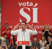 Sánchez asumirá el sábado el cargo de presidente del gobierno de España. Foto: AP
