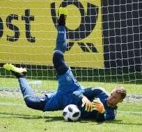 La última aparición de Neuer con la selección alemana fue hace casi 20 meses. Foto: AFP