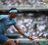 PARIS, Francia.- Nadal ganó sin contratiempos en el séptimo día del torneo clasificando a octavos de final. Foto: AFP